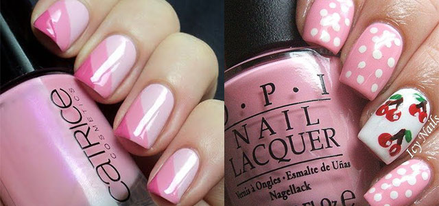 15-Cute-Pink-Summer-Nail-Art-Designs-Ideas-Trends-Stickers-2014