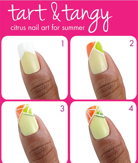 15-Easy-Summer-Inspired-Nail-Art-Tutorials-For-Beginners-Learners-2014-13