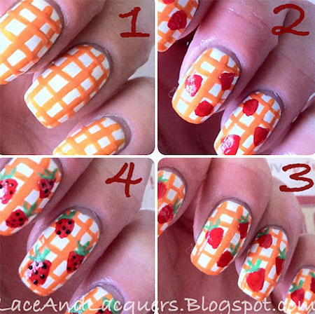 15-Easy-Summer-Inspired-Nail-Art-Tutorials-For-Beginners-Learners-2014-14