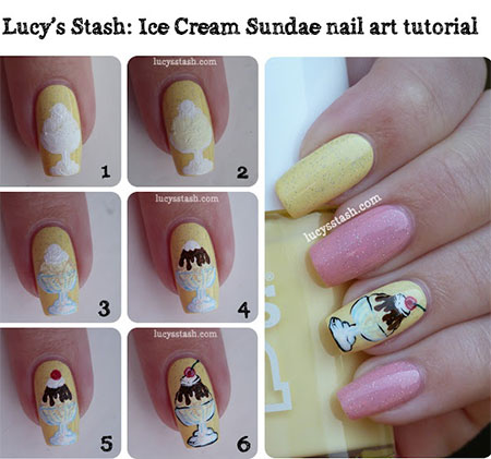15-Easy-Summer-Inspired-Nail-Art-Tutorials-For-Beginners-Learners-2014-16
