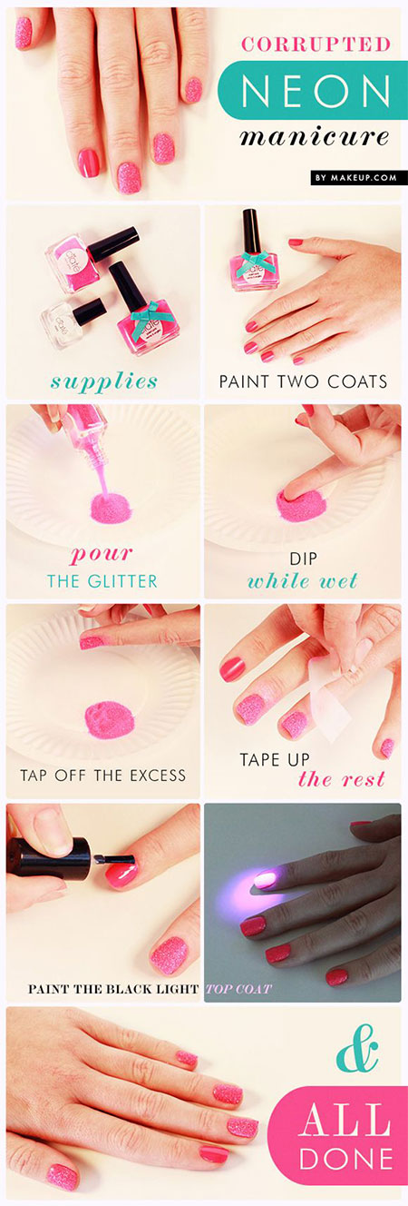 15-Easy-Summer-Inspired-Nail-Art-Tutorials-For-Beginners-Learners-2014-5