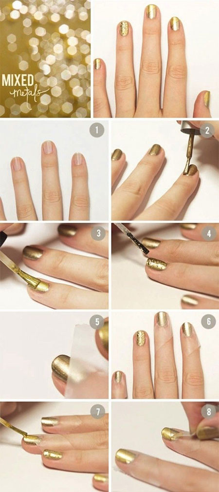 15-Easy-Summer-Inspired-Nail-Art-Tutorials-For-Beginners-Learners-2014-7