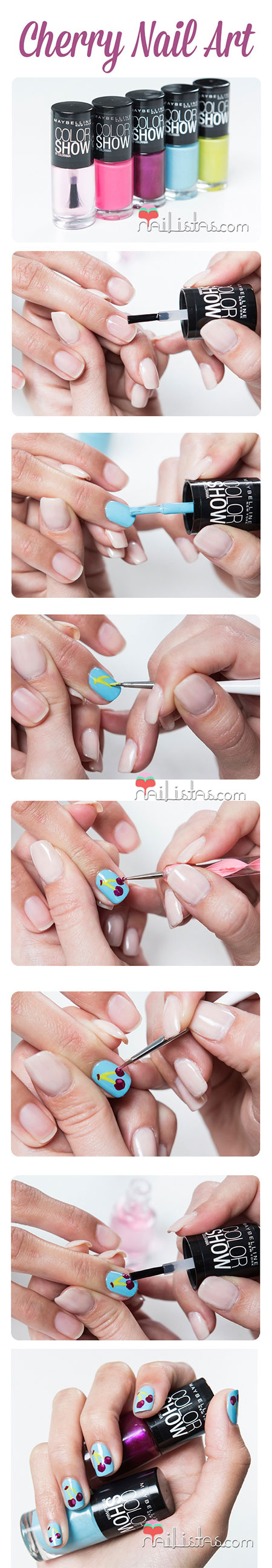15-Easy-Summer-Inspired-Nail-Art-Tutorials-For-Beginners-Learners-2014-9