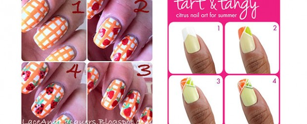 15-Easy-Summer-Inspired-Nail-Art-Tutorials-For-Beginners-Learners-2014