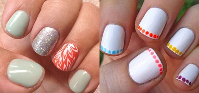15 + Easy Summer Nail Art Designs, Ideas, Trends & Stickers 2014 | Fabulous Nail  Art Designs - 15 + Easy Summer Nail Art Designs, Ideas, Trends & Stickers 2014