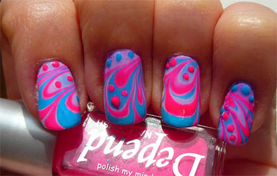 15-Stunning-Blue-Summer-Nail-Art-Designs-Ideas-Trends-Stickers-2014-3
