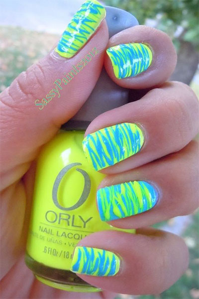 15-Stunning-Blue-Summer-Nail-Art-Designs-Ideas-Trends-Stickers-2014-5