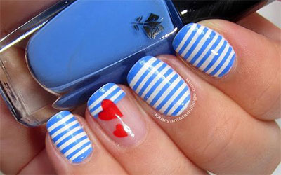 15-Stunning-Blue-Summer-Nail-Art-Designs-Ideas-Trends-Stickers-2014-6