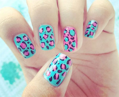 15-Stunning-Blue-Summer-Nail-Art-Designs-Ideas-Trends-Stickers-2014-9