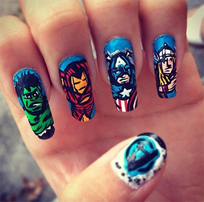 20-Avengers-Nail-Art-Designs-Ideas-Trends-Stickers-2014-12
