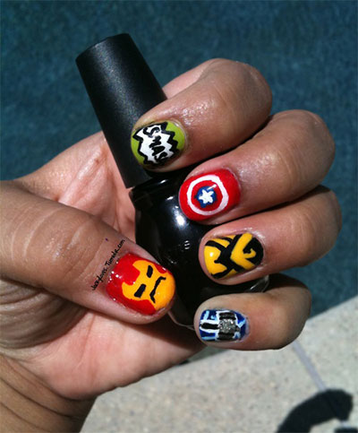20-Avengers-Nail-Art-Designs-Ideas-Trends-Stickers-2014-17