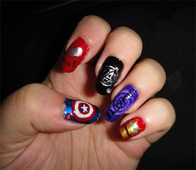 20-Avengers-Nail-Art-Designs-Ideas-Trends-Stickers-2014-2