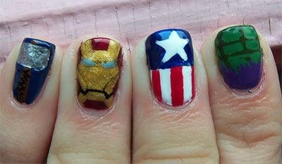 20-Avengers-Nail-Art-Designs-Ideas-Trends-Stickers-2014-21