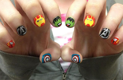 20-Avengers-Nail-Art-Designs-Ideas-Trends-Stickers-2014-22