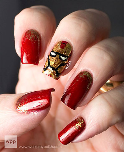 20-Avengers-Nail-Art-Designs-Ideas-Trends-Stickers-2014-3