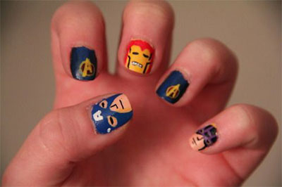 20-Avengers-Nail-Art-Designs-Ideas-Trends-Stickers-2014-5