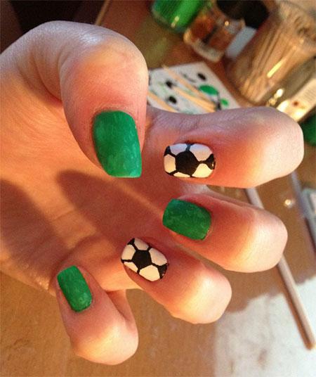 Football nail stickers best nails 2018 25 fifa world cup 2016 brazil nail art designs ideas trends football nail art stickers ideas prinsesfo Images