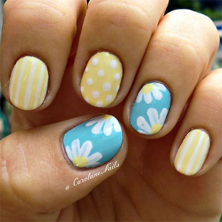 30-Cute-Summer-Themed-Nail-Art-Designs-Ideas- - 30 Cute Summer Themed Nail Art Designs, Ideas & Trends 2014