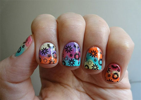 30 cute summer themed nail art designs ideas  trends