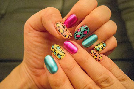 30 Cute Summer Themed Nail Art Designs Ideas Trends 2014