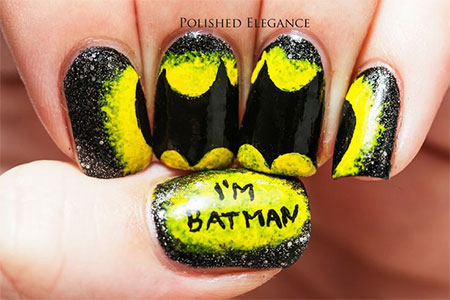 30-Easy-Simple-Batman-Nail-Art-Designs-Ideas-Trends-Stickers-2014-12