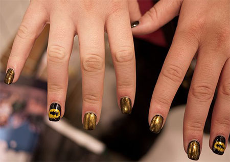 30-Easy-Simple-Batman-Nail-Art-Designs-Ideas-Trends-Stickers-2014-2