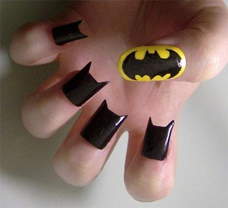 30-Easy-Simple-Batman-Nail-Art-Designs-Ideas-Trends-Stickers-2014-22