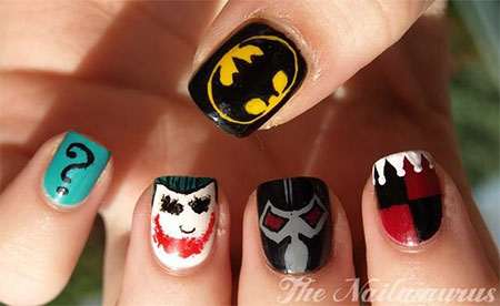 30-Easy-Simple-Batman-Nail-Art-Designs-Ideas-Trends-Stickers-2014-23