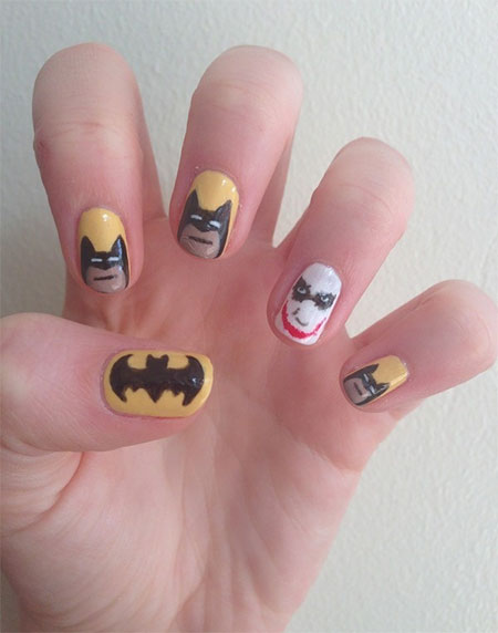 30-Easy-Simple-Batman-Nail-Art-Designs-Ideas-Trends-Stickers-2014-26