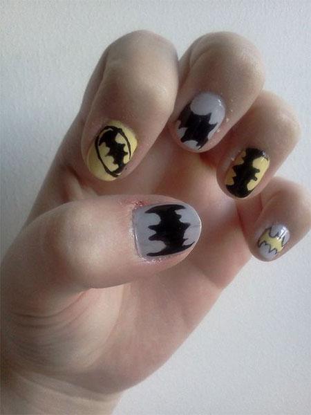 30-Easy-Simple-Batman-Nail-Art-Designs-Ideas-Trends-Stickers-2014-27