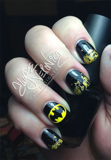 30-Easy-Simple-Batman-Nail-Art-Designs-Ideas-Trends-Stickers-2014-28