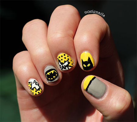 30-Easy-Simple-Batman-Nail-Art-Designs-Ideas-Trends-Stickers-2014-29
