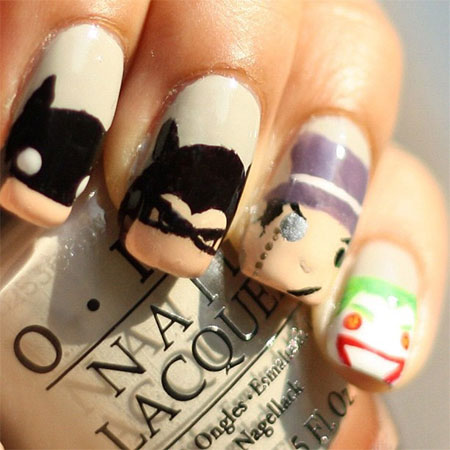 30-Easy-Simple-Batman-Nail-Art-Designs-Ideas-Trends-Stickers-2014-5