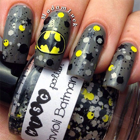 30-Easy-Simple-Batman-Nail-Art-Designs-Ideas-Trends-Stickers-2014-6