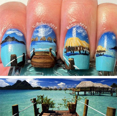 30-Inspiring-Beach-Nail-Art-Designs-Ideas-Trends-Stickers-2014-24