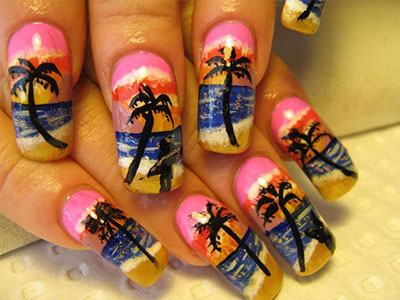 30-Inspiring-Beach-Nail-Art-Designs-Ideas-Trends-Stickers-2014-28