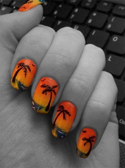 30-Inspiring-Beach-Nail-Art-Designs-Ideas-Trends-Stickers-2014-31