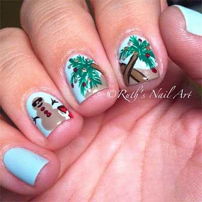30-Inspiring-Beach-Nail-Art-Designs-Ideas-Trends-Stickers-2014-33