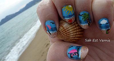 30-Inspiring-Beach-Nail-Art-Designs-Ideas-Trends-Stickers-2014-34