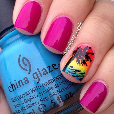 30-Inspiring-Beach-Nail-Art-Designs-Ideas-Trends-Stickers-2014-6