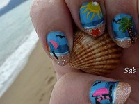 30-Inspiring-Beach-Nail-Art-Designs-Ideas-Trends-Stickers-2014