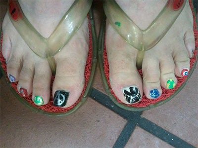Easy-Avengers-Toe-Nail-Art-Designs-Ideas-Trends-2014-2