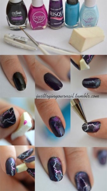 Easy-Thor-Nail-Art-Tutorial-For-Beginners-Learners-2014-1