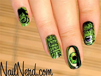 Incredible-Hulk-Nail-Art-Designs-Ideas-Trends-Stickers-2014-Hulk-Nails-1