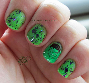 Incredible-Hulk-Nail-Art-Designs-Ideas-Trends-Stickers-2014-Hulk-Nails-5