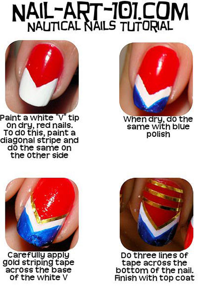 Simple-Step-By-Step-Avengers-Nail-Art-Tutorials-2014-For-Beginners-Learners-3