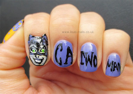 Stunning-Catwoman-Nail-Art-Designs-Ideas-Trends-Stickers-2014-4