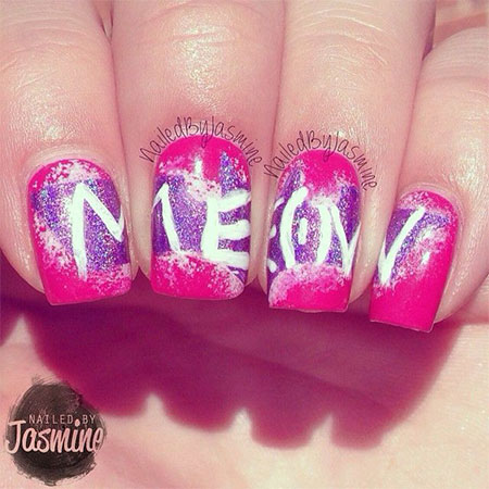 Stunning-Catwoman-Nail-Art-Designs-Ideas-Trends-Stickers-2014-5