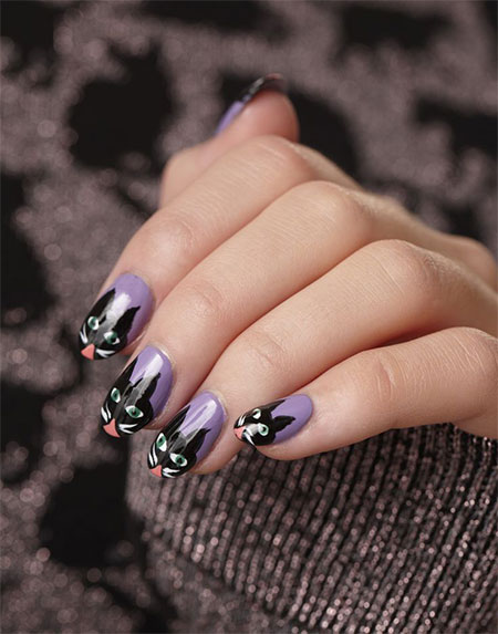 Stunning-Catwoman-Nail-Art-Designs-Ideas-Trends-Stickers-2014-7