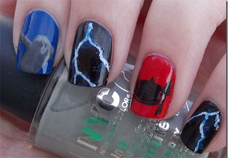 Stunning-Thor-Nail-Art-Designs-Ideas-Trends-Stickers-2014-Thor-Nails-7